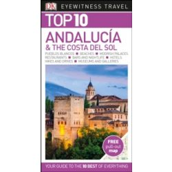 Andalucia útikönyv, Costa del sol Top 10  DK Eyewitness Guide, angol 2015