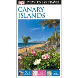 Canary Islands útikönyv DK Eyewitness Guide, angol 2017 Kanári-szigetek útikönyv