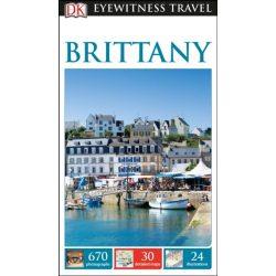 Brittany útikönyv DK Eyewitness Guide, angol 2017