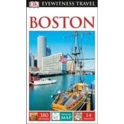 Boston útikönyv DK Eyewitness Guide, angol 2017