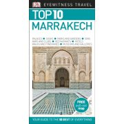 Marrakesh útikönyv Marrakech Guide Top 10  DK Eyewitness Guide angol 2017