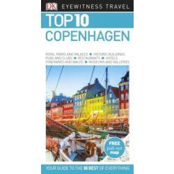 Koppenhága útikönyv, Copenhagen útikönyv Top 10 DK Eyewitness Guide, angol 2019