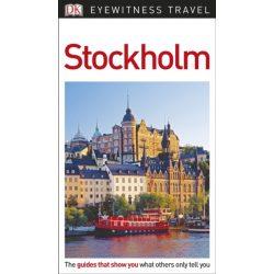 Stockholm útikönyv DK Eyewitness Guide, angol 2018
