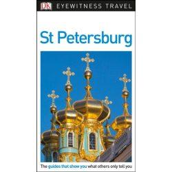 Szentpétervár útikönyv St Petersburg DK Eyewitness Guide, angol 2018