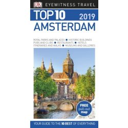 Amsterdam útikönyv Top 10  DK Eyewitness Guide, angol 2018