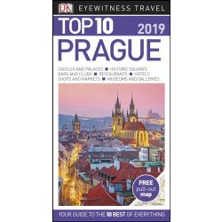 Prága útikönyv, Prague Top 10 DK Eyewitness Guide 2019  angol