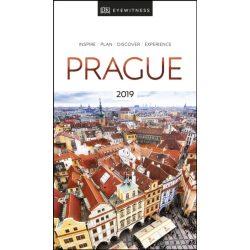 Prága útikönyv DK Eyewitness Guide Prague 2019  angol