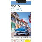 Kuba útikönyv, Cuba útikönyv Top 10 DK Eyewitness Guide, angol 2019