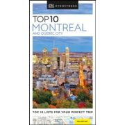 Montreal útikönyv, Montreal and Quebec City útikönyv Top 10 DK Eyewitness Guide, angol 2019