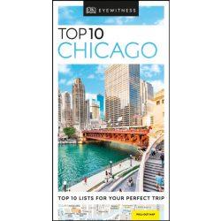 Chicago útikönyv Top 10 DK Eyewitness Guide, angol 2019