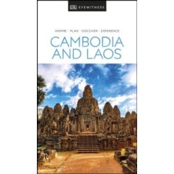 Cambodia and Laos útikönyv DK Eyewitness Travel Guide angol 2019