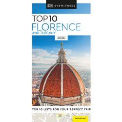 Florence útikönyv, Florence & Tuscany Firenze Toszkána útikönyv Top 10 2020 DK Eyewitness Guide, angol