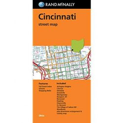 Greater Cincinnati térkép Rand M