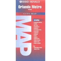 Orlando, Florida térkép Rand M