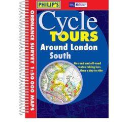 London környéke térkép AZ, London kerékpáros atlasz spirál, Around London South