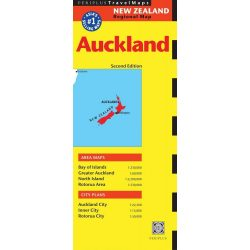 Auckland térkép Periplus Editions 1: 22 500