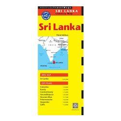 Sri Lanka térkép Periplus 1:525 000