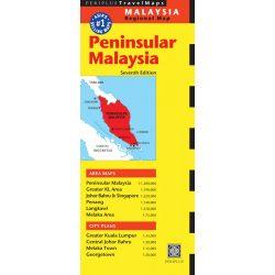 Malaysia térkép Periplus 1:1 200 000