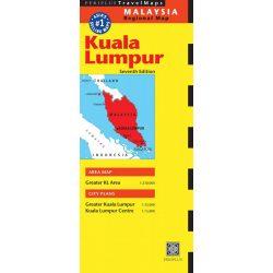 Kuala Lumpur térkép Periplus
