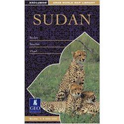 Sudan térkép, Szudán térkép Geo Projekt 1:4 000 000