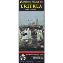 Eritrea térkép ITM 1:900 000