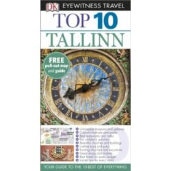 Tallinn útikönyv DK Eyewitness Top 10, Tallin útikönyv  angol   2015