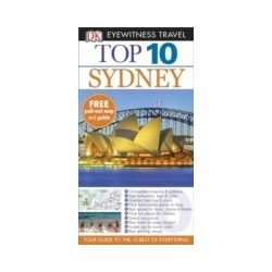 Sydney útikönyv Top 10 DK Eyewitness Guide, angol 2015