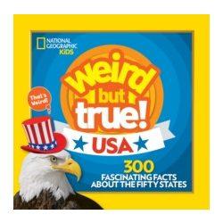 Weird But True! USA Lonely Planet Guide 2019 angol könyv gyerekeknek