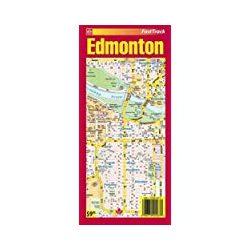 Edmonton térkép Fast Track 1:15 000