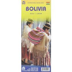 Bolivia térkép ITM 1:1 250 000