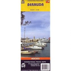Bermuda térkép ITM 1:14 500