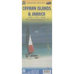 Jamaika térkép ITM 1:13 500