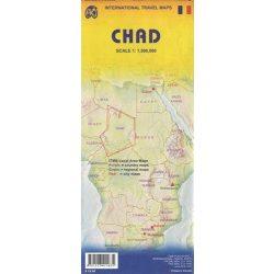Chad térkép ITM 1:500 000