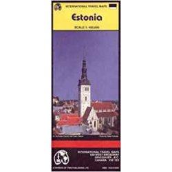 Észtország térkép ITMB  1:400 000