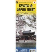 Kyoto térkép Japán térkép Western Japan térkép ITM  1:12 500, 1:670 000