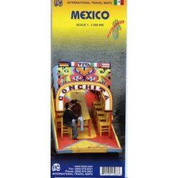 Mexico térkép ITM 1:2 000 000  Mexikó térkép