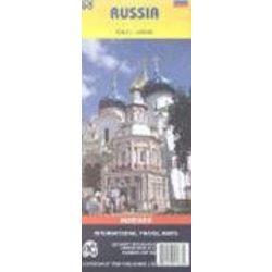 Oroszország térkép ITM 1:6 000 000
