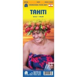 Tahiti térkép ITM 1:100 000