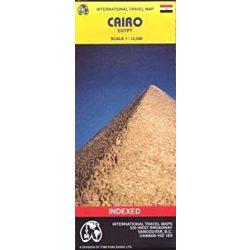 Cairo térkép ITM 1:12 500  Kairó térkép