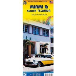 Miami térkép, Miami és Dél-Florida térkép / Miami & South Florida / ITMB  2009   1: 12 500 / 1: 400 000 1: 12.500 / 1: 400.000