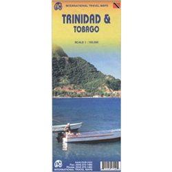 Trinidad térkép és Tobago térkép  ITM 1:150 000