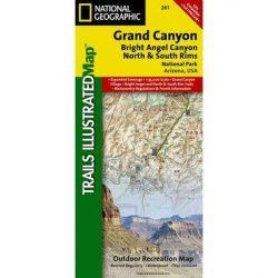 Grand Canyon térkép National Geographic
