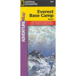Everest Base Camp térkép National Geographic