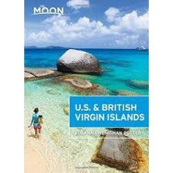 U.S. & British Virgin Islands útikönyv 2015  Moon