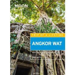 Angkor útikönyv, Moon Angkor Wat útikönyv Including Siem Reap & Phnom Penh, angol 2018