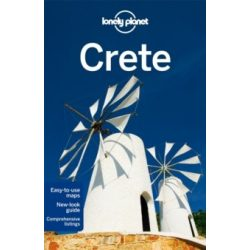 Crete Lonely Planet guide Kréta útikönyv Görögország 2012 akciós
