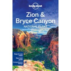 Zion & Bryce Canyon National Parks útikönyv Lonely Planet 2016