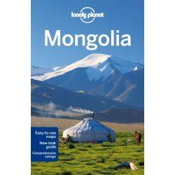 Mongolia Lonely Planet, Mongólia útikönyv  2014