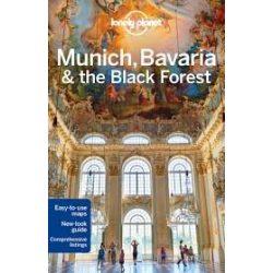Munich Bavaria Black Forest Lonely Planet, München útikönyv 2016