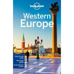 Europe, Western Europe útikönyv Lonely Planet  2015